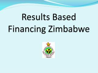Results Based Financing Zimbabwe