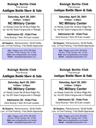 Raleigh Bottle Club