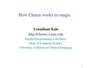 How Charm works its magic