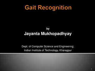 Gait Recognition