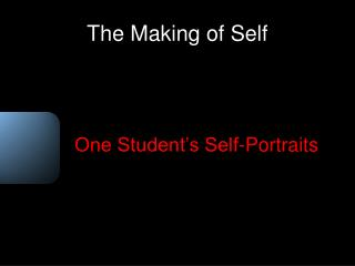 The Making of Self