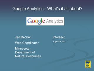 Google Analytics - What's it all about?