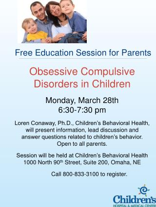 Free Education Session for Parents