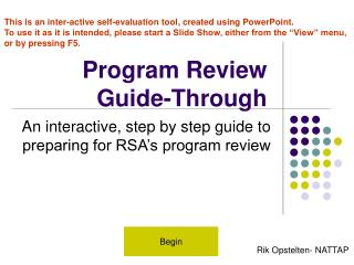 Program Review Guide-Through