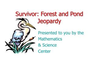 Survivor: Forest and Pond Jeopardy