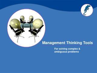 Management Thinking Tools