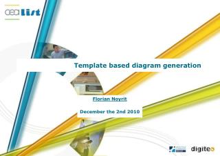 Template based diagram generation