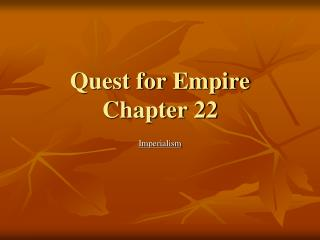 Quest for Empire Chapter 22