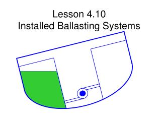 Lesson 4.10   Installed Ballasting Systems