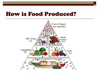 How is Food Produced?