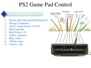 PS2 Game Pad Control