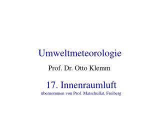 Umweltmeteorologie