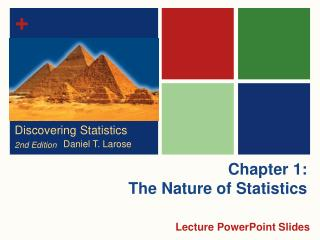 Chapter 1: The Nature of Statistics