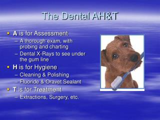 The Dental AH&T