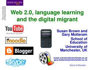 Web 2.0, language learning and the digital migrant