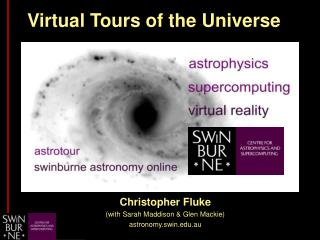 Virtual Tours of the Universe