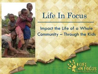Life In Focus