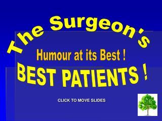 The Surgeon's