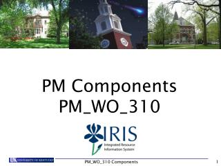 PM Components PM_WO_310