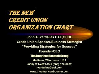 The New  Credit Union Organization Chart