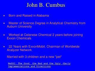 John B. Cumbus