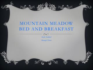 Mountain Meadow Bed and Breakfast