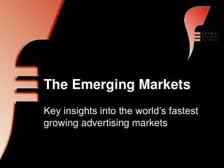 The Emerging Markets