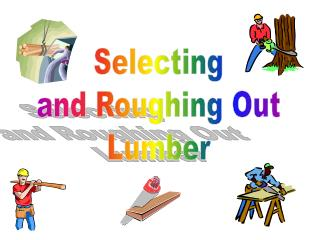 Selecting and Roughing Out Lumber