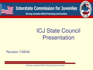 ICJ State Council Presentation