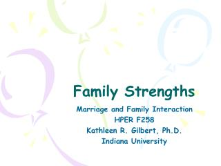 Family Strengths