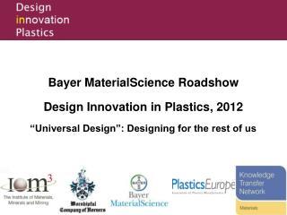 Design Innovation in Plastics Competition