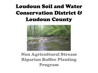 Loudoun Soil and Water Conservation District & Loudoun County
