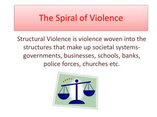 The Spiral of Violence