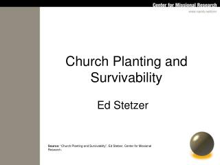 Church Planting and Survivability