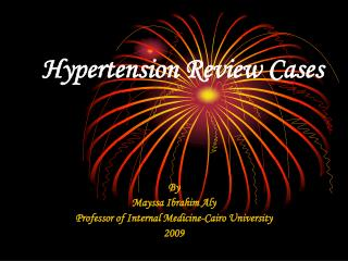 Hypertension Review Cases
