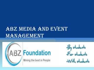 ABZ Media and Event Management