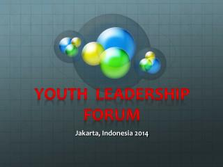 Youth  Leadership forum