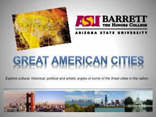 Great American cities