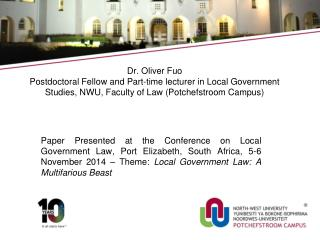 Giving Effect to Social Justice in South Africa: Local Government and Indigent Policies