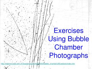 Exercises Using Bubble Chamber Photographs