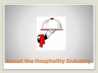 About the  Hospitality Industry