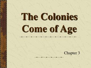 english colonies in an age of Early british colonies  the english established colonies along the eastern shore of north america the original 13 english colonies in north america formed the.
