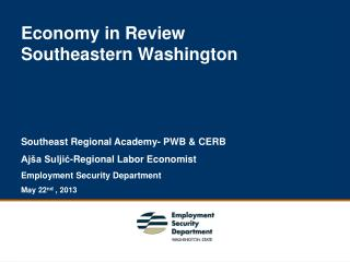 Economy in Review  Southeastern Washington