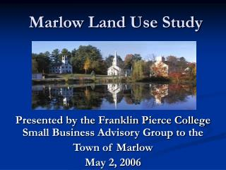 Marlow Land Use Study