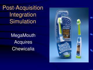 Post-Acquisition Integration Simulation