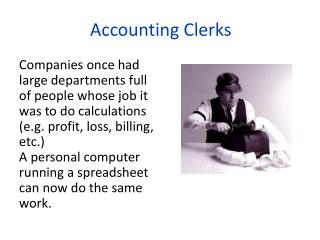 Accounting Clerks