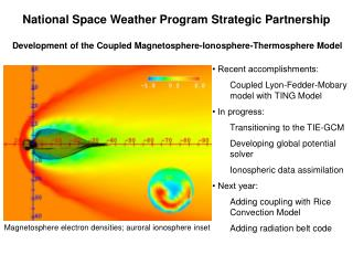 National Space Weather Program Strategic Partnership
