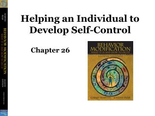 Helping an Individual to Develop Self-Control