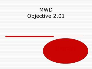MWD Objective 2.01