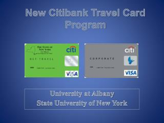 New Citibank Travel Card Program